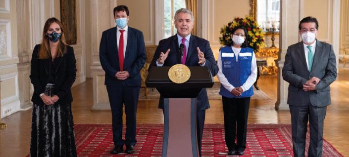 Colombia, primer país de América en recibir vacunas COVAX