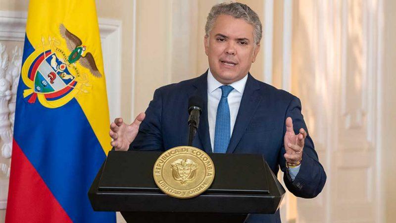 Presidente Ivan Duque anuncio el retiro de la Reforma Tributaria en el congreso