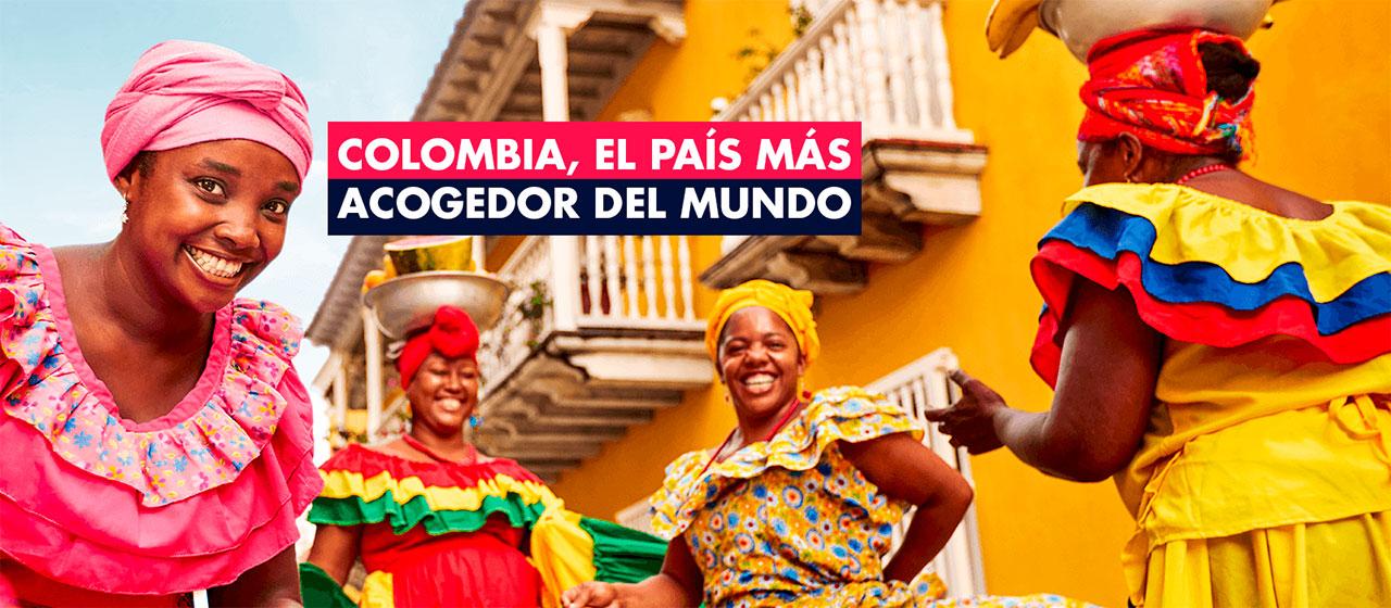 'Colombia, el país más acogedor del mundo', el nuevo manifiesto del país para promocionarse en el exterior