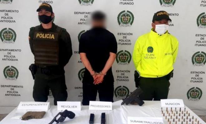En Ituango Antioquia capturados los posibles responsables del homicidio de un menor de edad