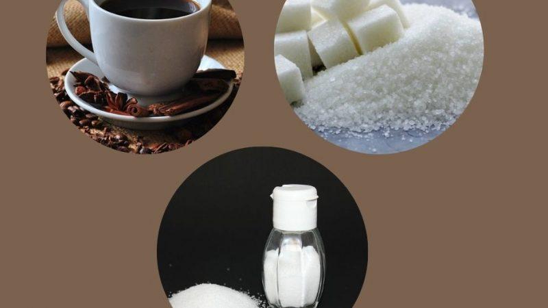 El cafe,la sal y el azúcar no son alimentos básicos y les aumentaran el iva