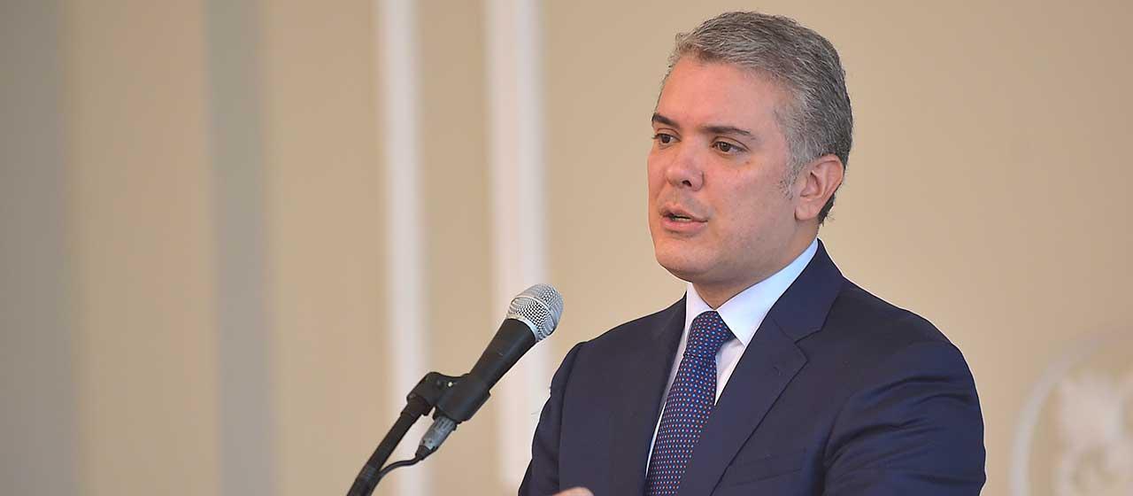 Presidente Duque reitera rechazo a la violencia y pide no estigmatizar ni generalizar