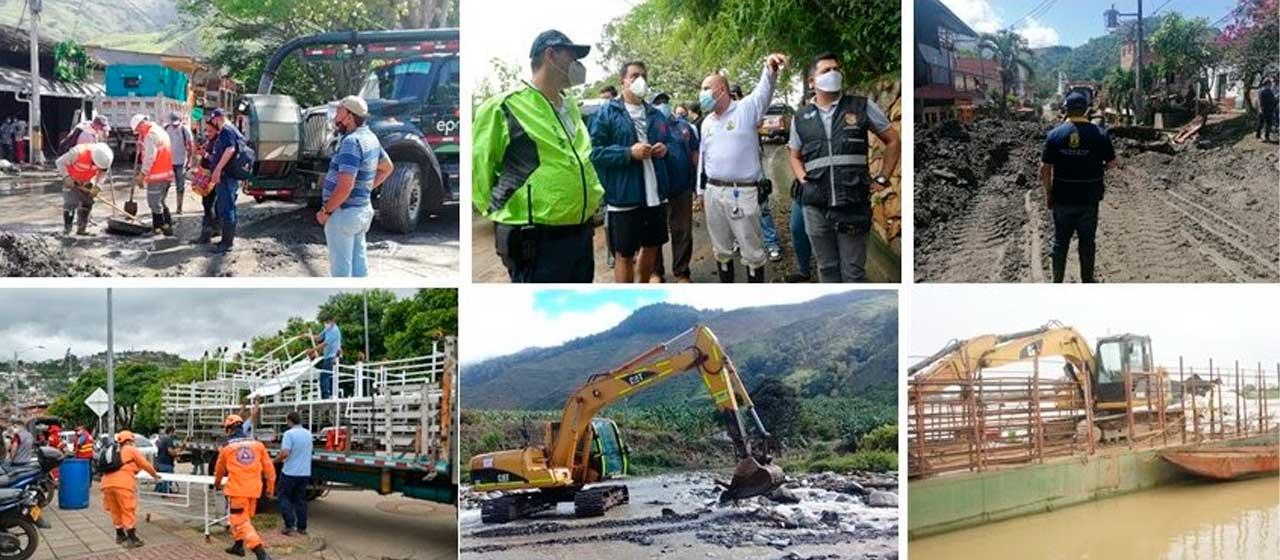 Primera temporada de lluvias ha afectado a 458 municipios de 27 departamentos del país