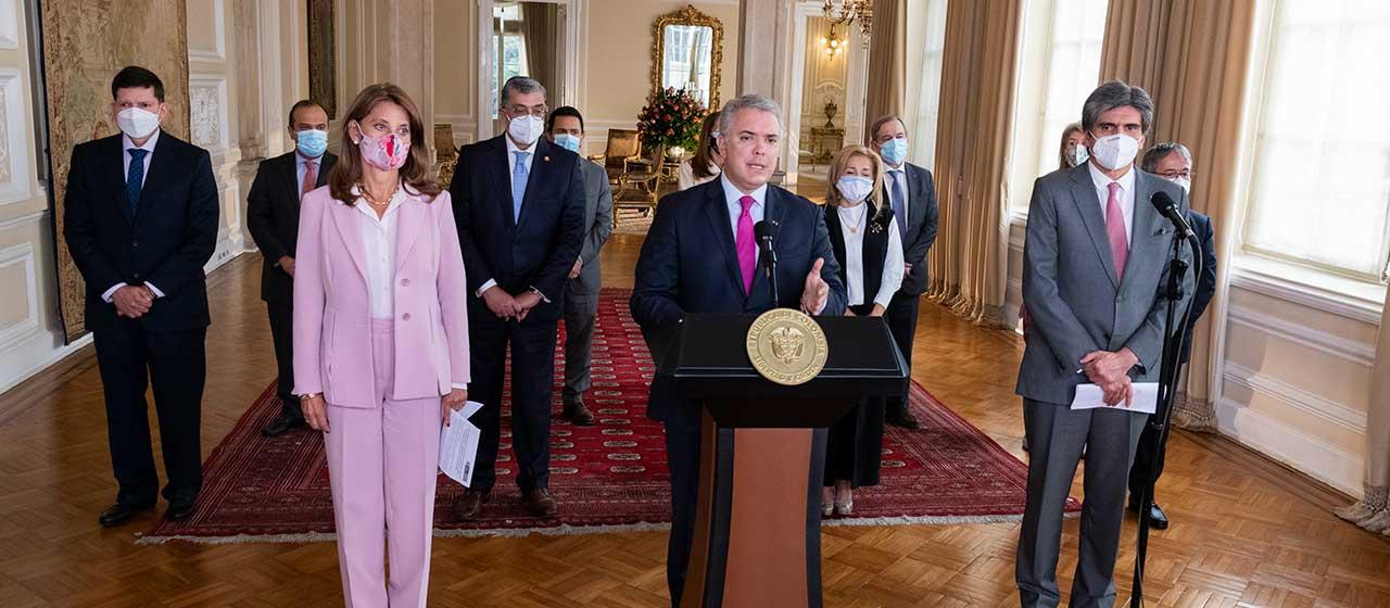 Presidente Duque designa a la Vicepresidenta Marta Lucía Ramírez como Ministra de Relaciones Exteriores