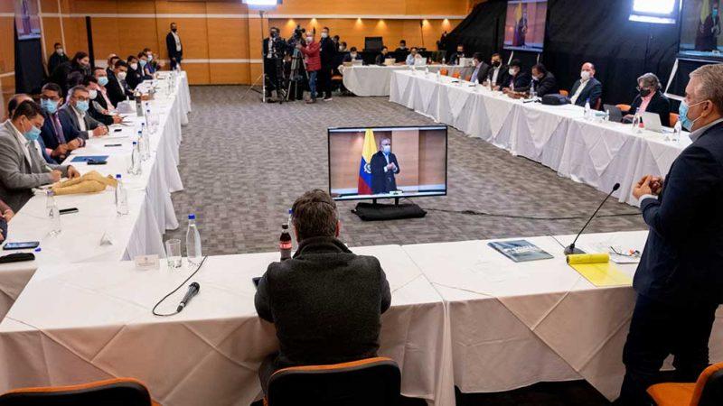 Alcaldes solicitan al Comité Nacional de Paro que acepte a la mayor brevedad posible invitación del Presidente Duque a dialogar