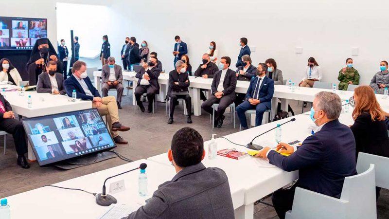 Líderes religiosos y Gobierno Nacional reiteran llamado a levantar bloqueos que afectan a millones de colombianos