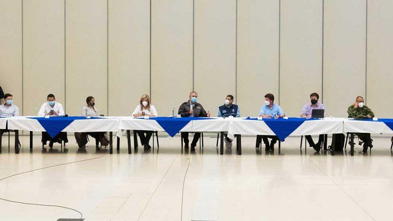 Presidente Duque encabezó Consejo de Seguridad en Cali, durante el cual hizo seguimiento a instrucciones para restablecer el orden público