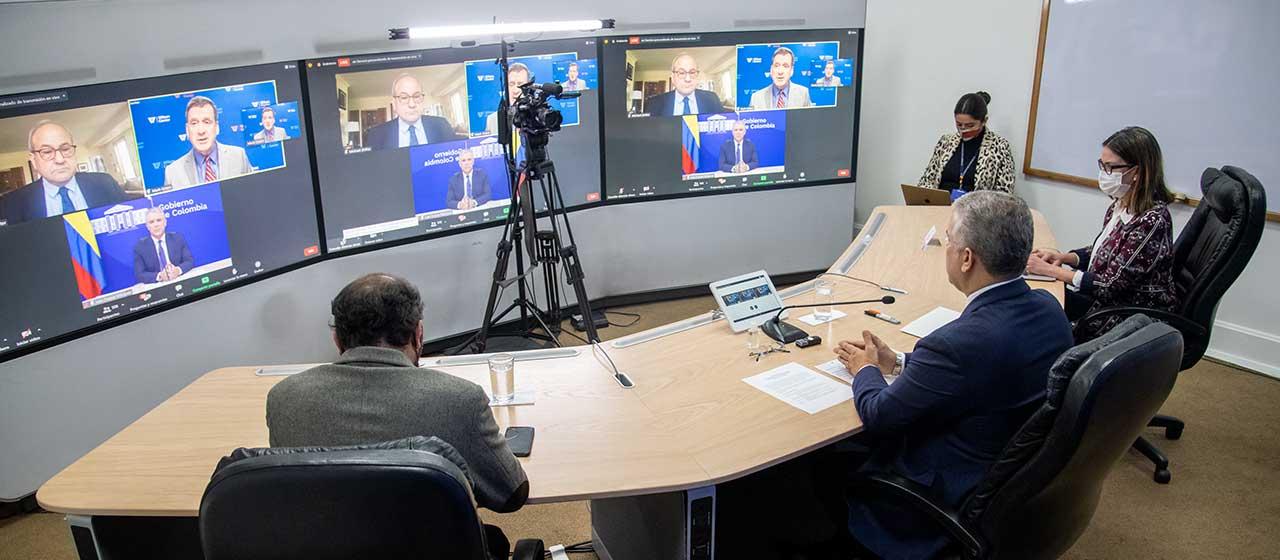 Presidente Duque invita a ONU y organismos internacionales a apoyar el Pacto por la Juventud