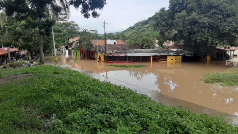 Doce eventos han sido reportados al Dagran tras las altas precipitaciones de las últimas horas