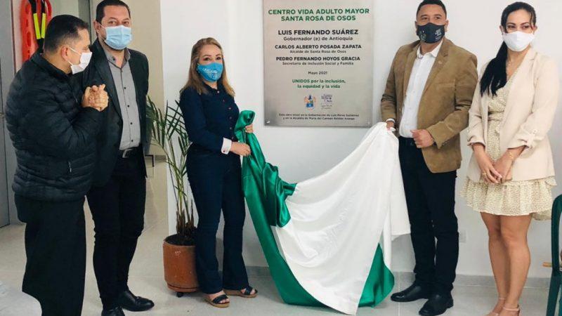 Antioquia entrega el Centro Vida para las personas mayores de Santa Rosa de Osos