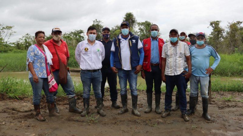 1.700 personas en Chigorodó beneficiadas con intervención del Dagran para mitigar riesgo por inundación