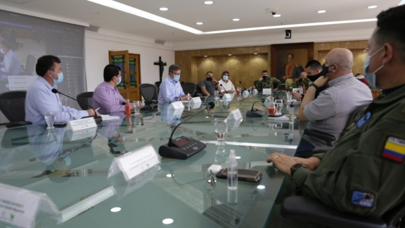 El Gobernador encargado de Antioquia indica que hay normalidad en la situación de abastecimiento alimentario en el departamento
