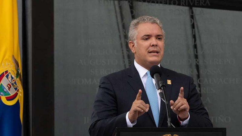 Gobierno Nacional se compromete a financiar la segunda línea del Metro de Bogotá: Duque