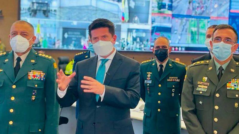 Ministro de Defensa anunció la desarticulación del Grupo Armado Organizado 'Los Caparros'