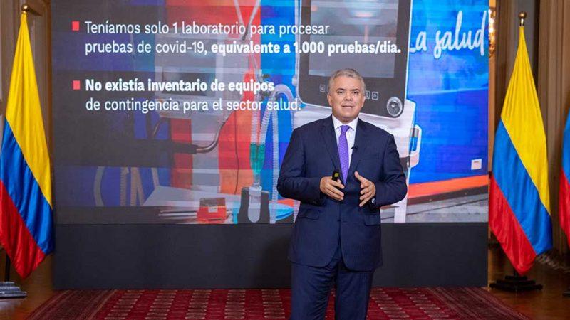 Los bloqueos no son un tema de negociación ni de trueque, y se tienen que levantar en defensa de los derechos de todos los colombianos: Duque