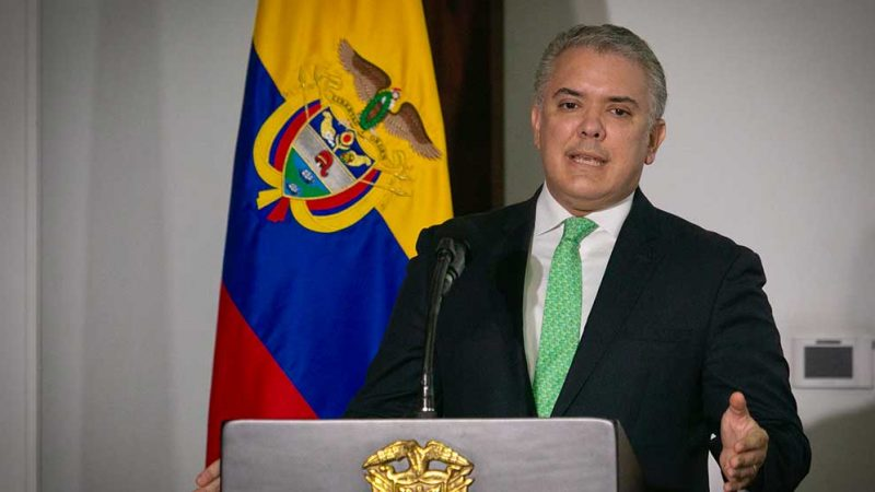 Colombia fortalece su democracia y busca la reactivación, la vacunación masiva y cerrar brechas sociales, pero nada de esto se logra con bloqueos: Duque