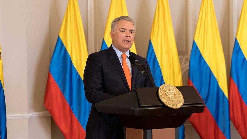 Como Presidente de la República, seguiré llegando a cualquier rincón de Colombia, porque para nosotros no existen territorios vedados: Duque