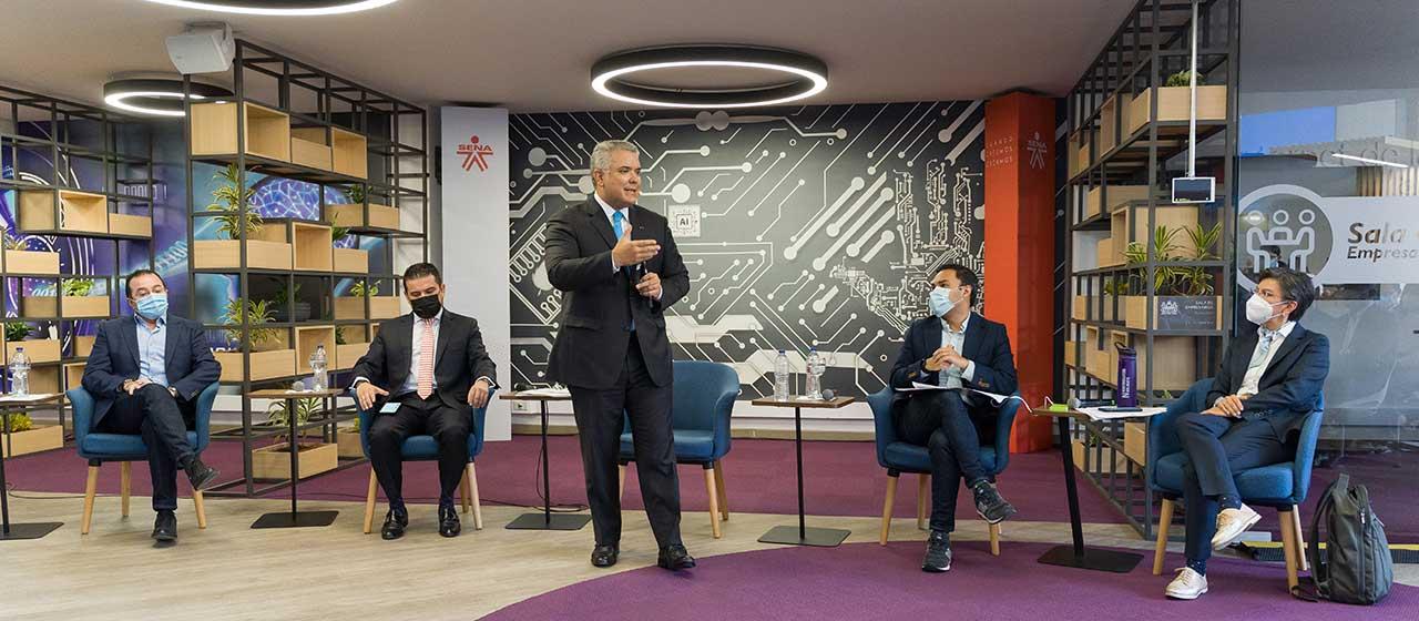 'Nadie puede recomendarle a un país ser tolerante con actos de criminalidad': Presidente Duque