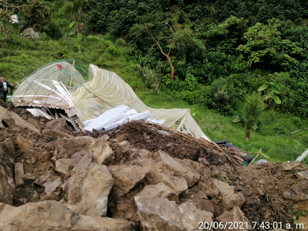 Trece eventos en Antioquia,el pasado fin de semana. Inundaciones y deslizamientos continúan siendo las emergencias recurrentes