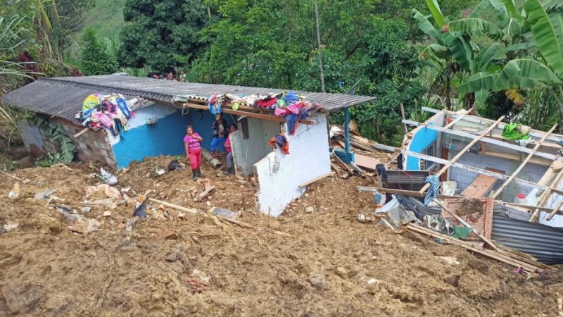 En el último día se han reportado al Dagran cuatro eventos por lluvias. Una persona fallecida y 66 familias albergadas es el saldo final
