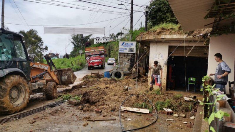 El pasado fin de semana le reportaron al Dagran diez eventos por las lluvias. Deslizamientos e inundaciones eventos recurrentes