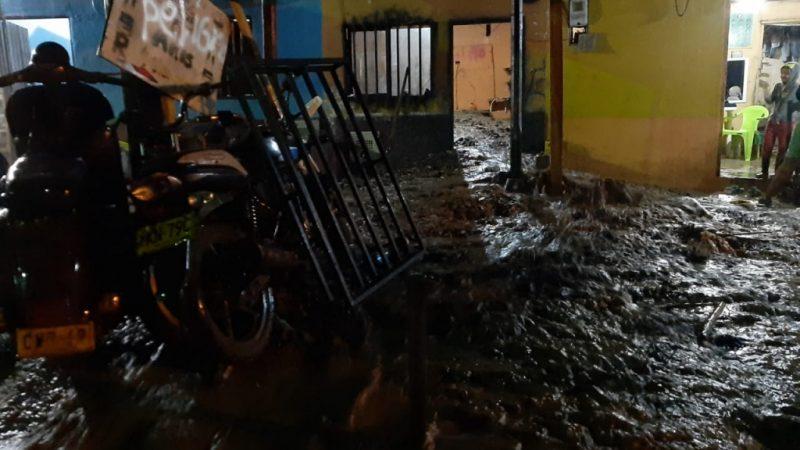 Cuatro municipios antioqueños reportaron eventos por las lluvias de las últimas horas