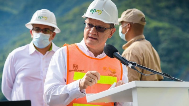 Gobernador encargado de Antioquia ofreció al presidente Duque apoyo para llevar energía a Bojayá