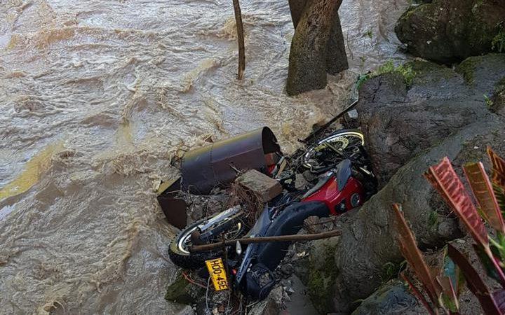 Tres fallecidos por crecientes súbitas en Antioquia fueron reportados el pasado fin de semana, Dagran lamentó estos hechos asociados a las lluvias.