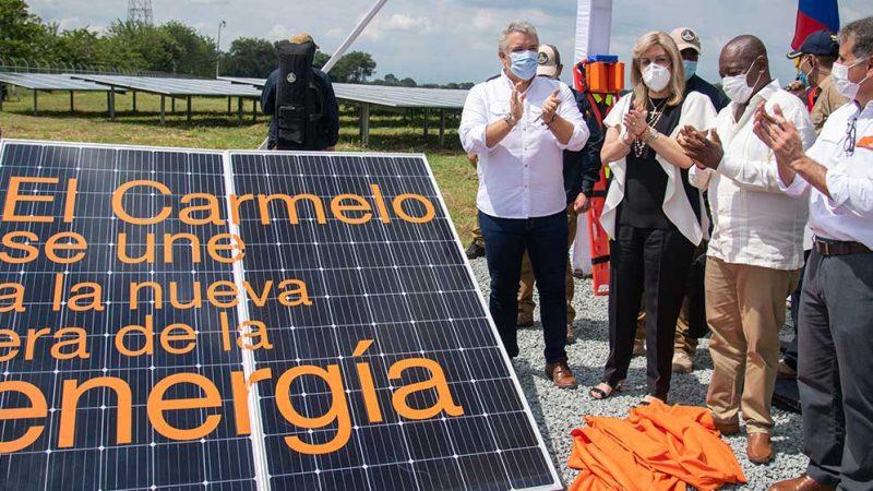 Presidente Duque sancionó la Ley de Transición Energética