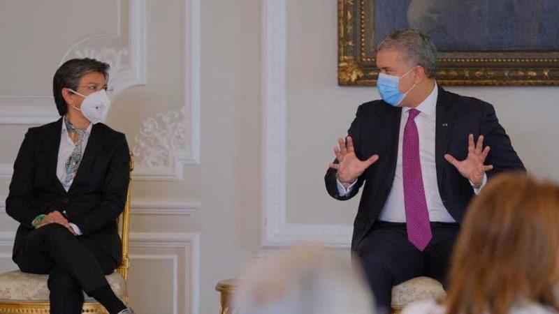 Alcaldesa de Bogotá y Gobernador de Cundinamarca expresaron apoyo a Proyecto de Inversión Social