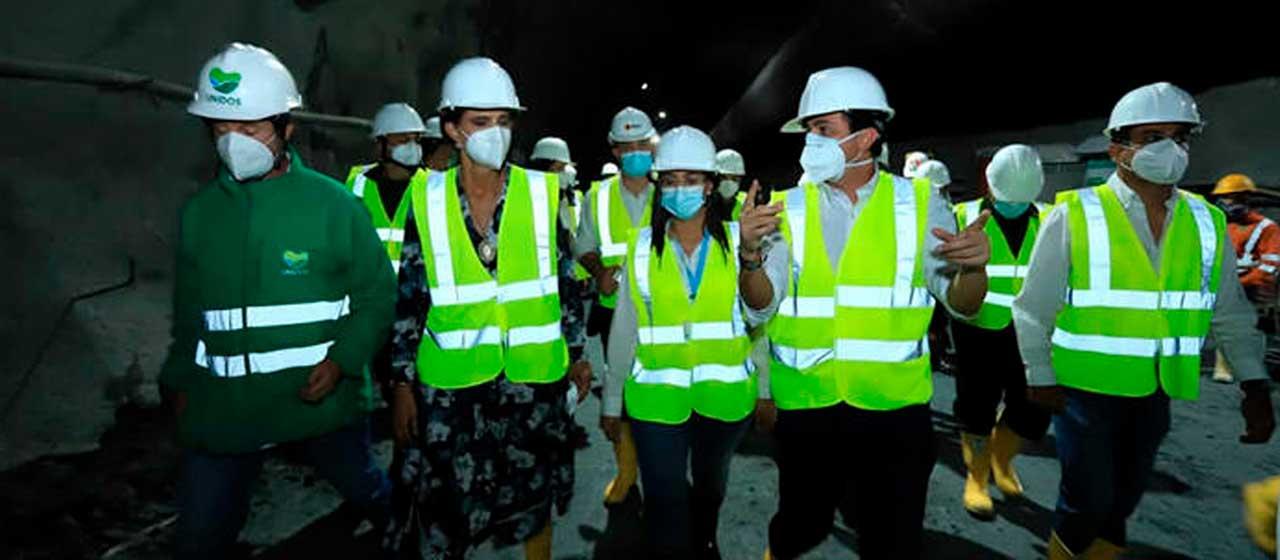 Inicia contrato de obra de vías de acceso al túnel Guillermo Gaviria Echeverri en Antioquia