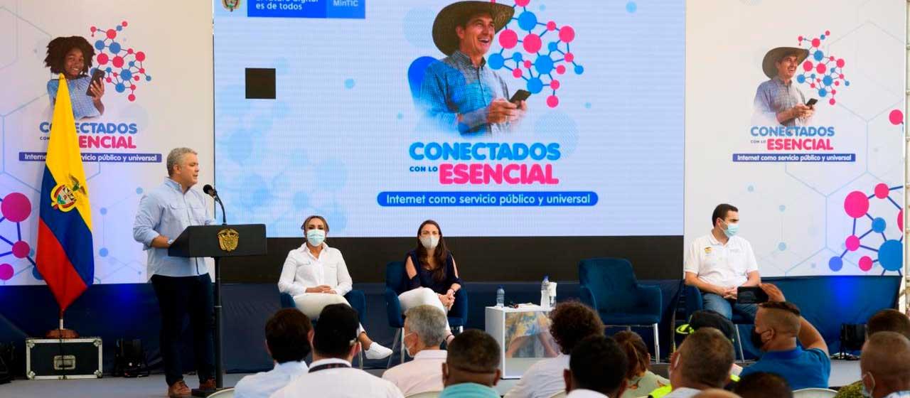 Desde hoy, el internet es un servicio público esencial y universal en Colombia