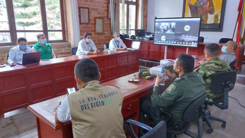 Terminaron con normalidad las elecciones atípicas para alcaldía en Tarazá y Titiribí.
