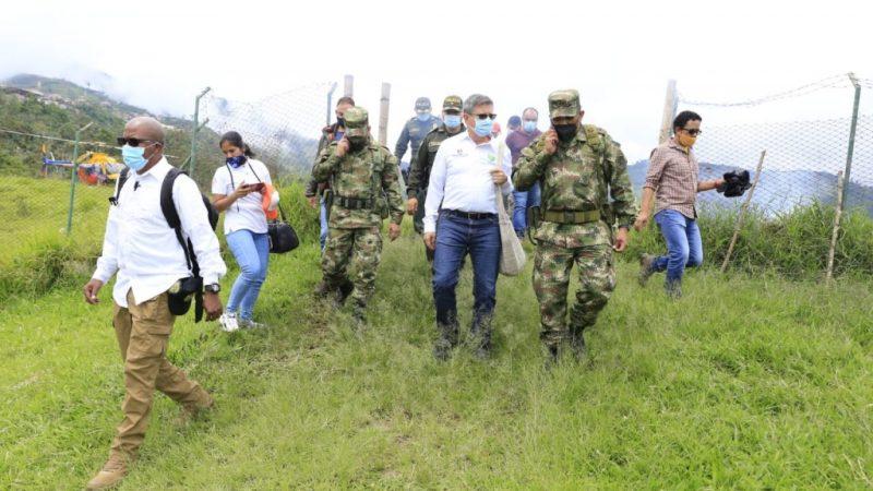 Antioquia atiende emergencia humanitaria en Ituango por desplazamiento forzado e invierno