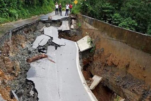 Antioquia establece ruta de atención para punto afectado en la vía San Fermín – Briceño.