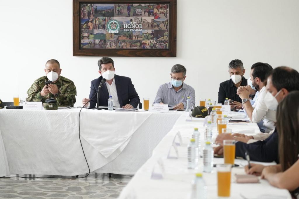 Reunión de Seguridad define medidas preventivas y el accionar para evitar actos violentos en las marchas anunciadas para los próximos días