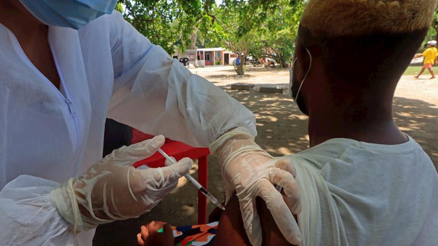 Detalles de la distribución de la vacuna de Moderna en Colombia