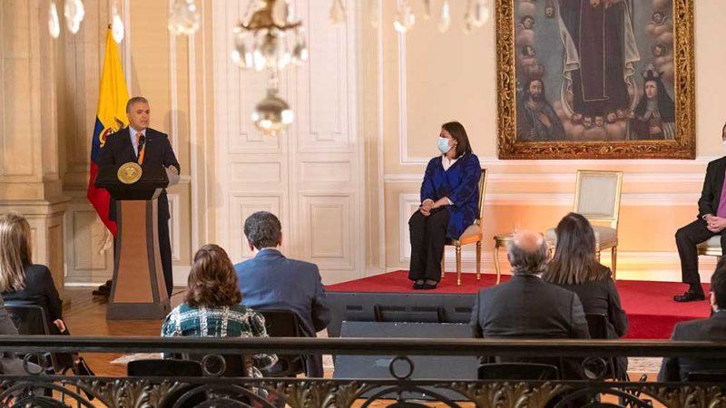 Estamos poniendo todo el acelerador para que la economía crezca por encima del 7% este año: Presidente Duque
