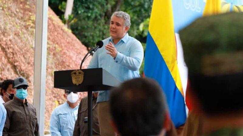 Avances en Plan de Vacunación permite dar pasos hacía apertura de la frontera con Ecuador: Duque
