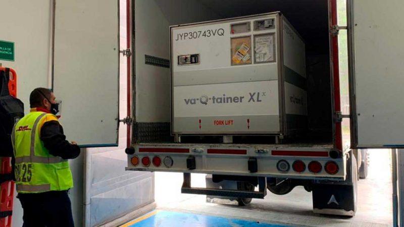 Colombia recibió 150.000 dosis del laboratorio Moderna