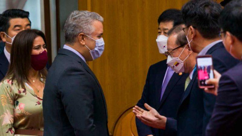 Duque anuncia firma de importantes instrumentos de cooperación con Corea del Sur que tendrán un gran impacto en Colombia