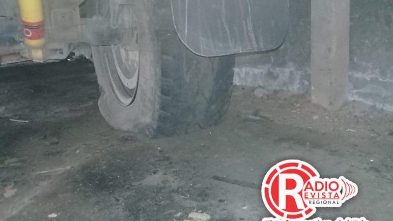 Ambulancia de Bomberos en Santa Barbara Antioquia con fallas y sin recursos para arreglarla