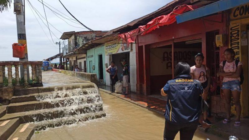 17 barrios y 3 corregimientos afectados por inundación en Nechí