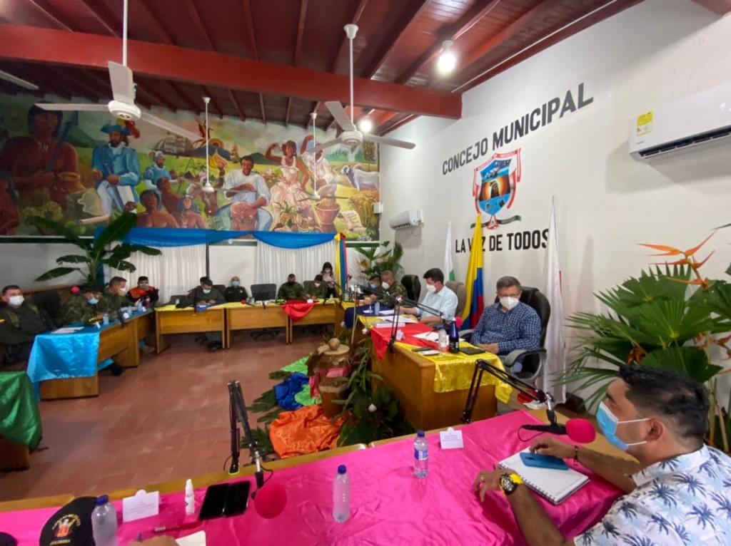 Definida ruta de actuación para superar crisis migratoria en Necoclí