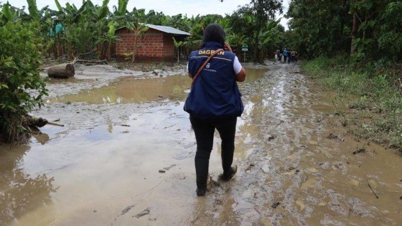 Del 23 al 26 de agosto se esperan de nuevo fuertes lluvias en el centro y sur de Antioquia