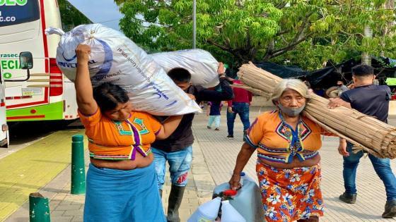 Centenares de familias desplazadas regresan a sus territorios