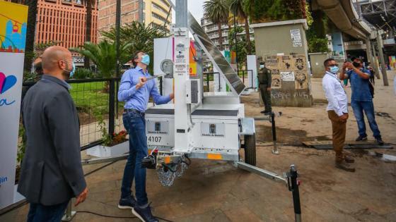Así funciona Robocop, el primer policía robot de Medellín