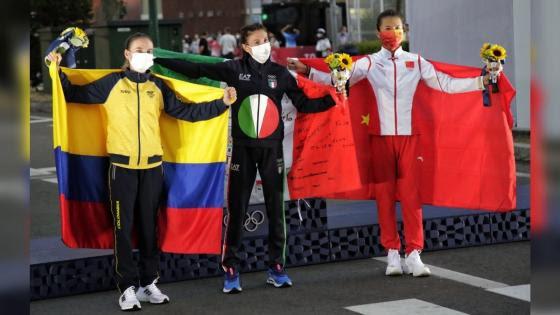 Sandra Lorena Arenas gana medalla de plata en los Olímpicos de Tokio