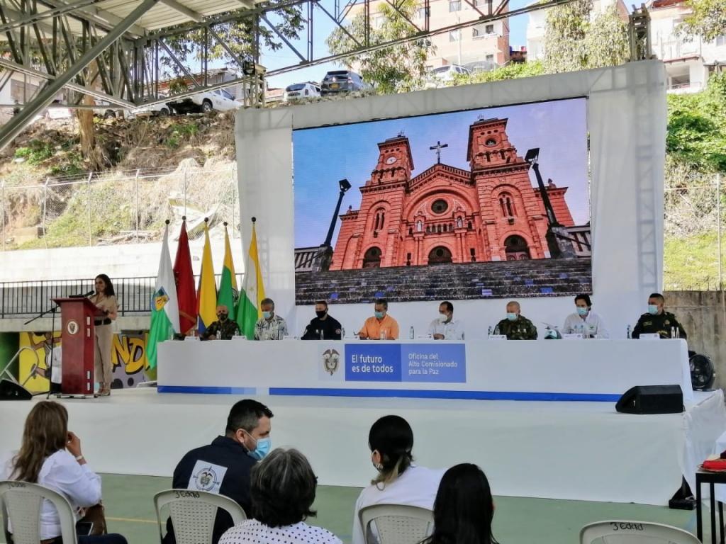 Yolombó y Santo Domingo están libres de sospecha de minas antipersonal