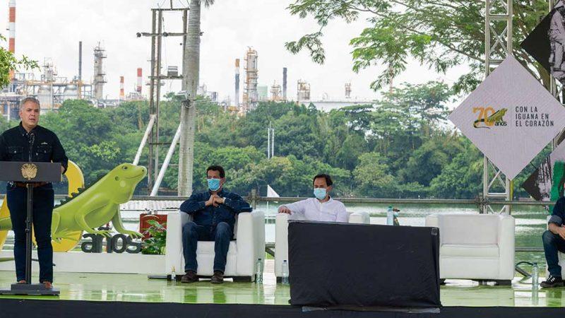 Ecopetrol es la empresa de hidrocarburos líder en transición energética en el mundo: Presidente Duque